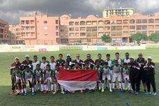 Timnas Pelajar U-15 Kemenpora Juara Grup di Portugal