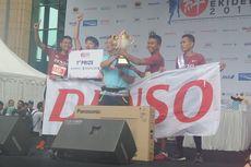 Tim Denso Cheetah Juarai Jakarta Kizune Ekiden 2017