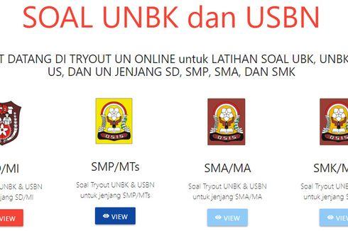 Dinas Pendidikan Jakarta Bagikan Soal