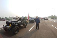 Jokowi Ditemani Konvoi Mobil