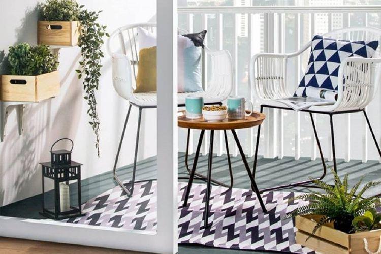 Menerapkan dekorasi yang sesuai dengan luas teras minimalis.