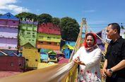 Kunjungi Kampung Tridi dan Warna-warni, Puti Asyik 'Nge-vlog'
