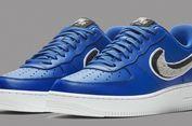 Lihat, Nike Air Force 1 Biru dengan 'Swoosh' Berefek 3D