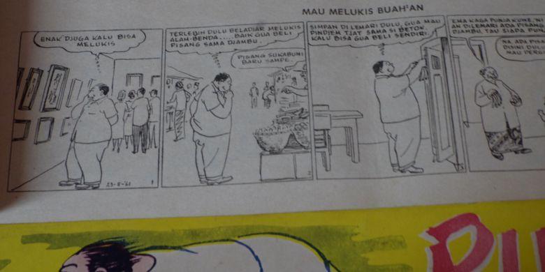 Komik pertama di Indonesia, Put On yang menjadi koleksi Museum Pustaka Peranakan Tionghoa