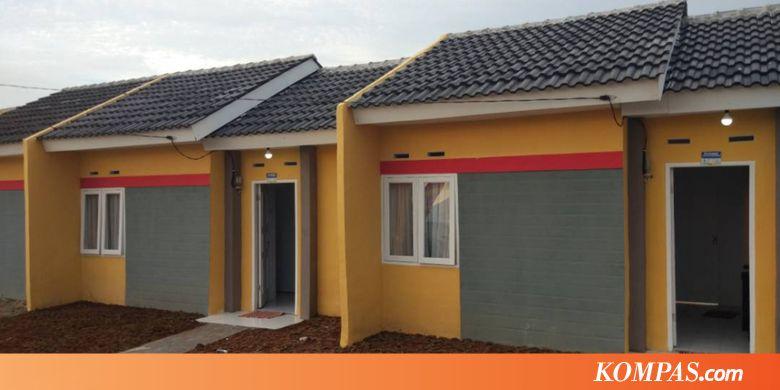Begini Tampilan Rumah Dp 1 Persen Cicilan Rp 800 000 Per Bulan