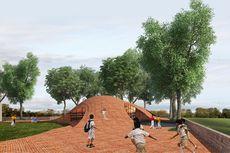 Atap Perpustakaan di India Bisa Digunakan untuk Bermain