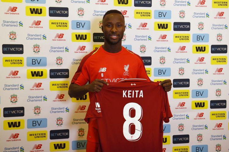 Naby Keita resmi gabung ke Liverpool.