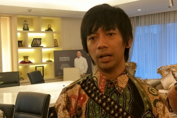 Rian DMASIV saat ditemui di Gedung Nusantara III, DPR RI, Senayan, Jakarta Pusat, Senin (28/1/2019).