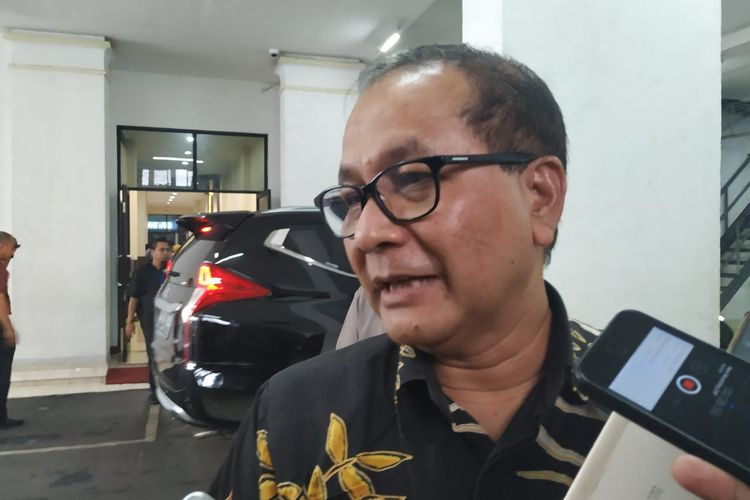 Sekretaris Jenderal KPU RI Arif Rahman Hakim di kantor KPU, Menteng, Jakarta Pusat.
