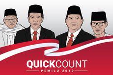 Real Count KPU di Sulawesi Selatan Data 84,57 Persen: Jokowi-Maruf 43,47 Persen, Prabowo-Sandi 56,53 Persen