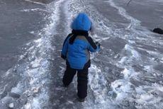 Salju Hitam Turun di Kazakhstan, Apa yang Terjadi?