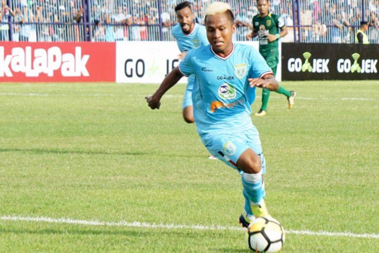 Fahmi Siap Gantikan Peran Saddil Saat Persela Hadapi Sriwijaya FC