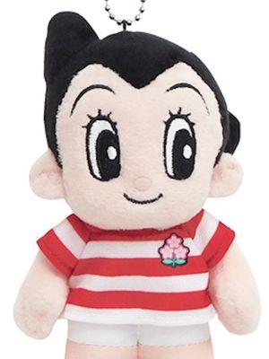 """Maskot Kolaborasi Atom Boy"" (1700 yen) dengan panjang keseluruhan 14,5cm"