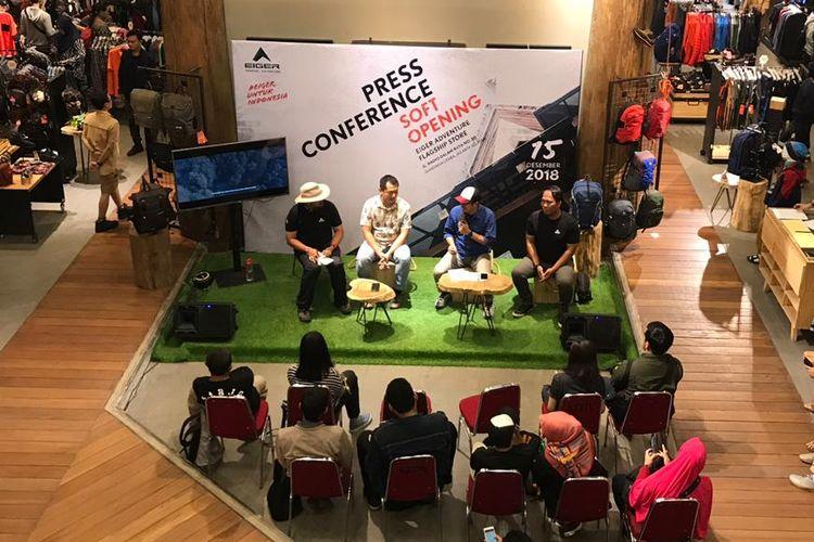 Eiger Buka Toko Terbaru Di Radio Dalam Jakarta