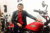 Manggung di Kalimantan, Rhoma Irama Disawer Motor Harley Davidson