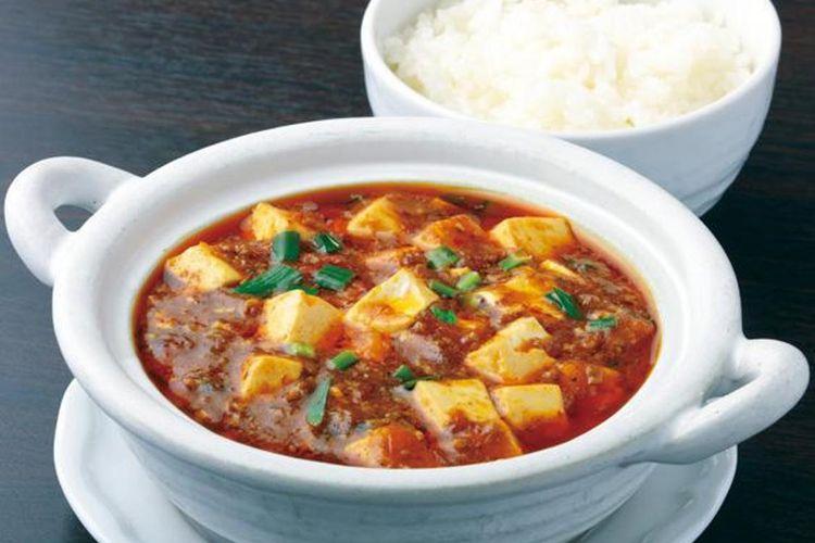 Gohan ga Susumu Curry Mabo Tofu