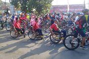 Peserta Difabel Meriahkan Sepeda Nusantara Magelang
