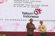 IDX Appreciation dari OJK dan BEI, Kinerja Telkom Dinilai Terbaik