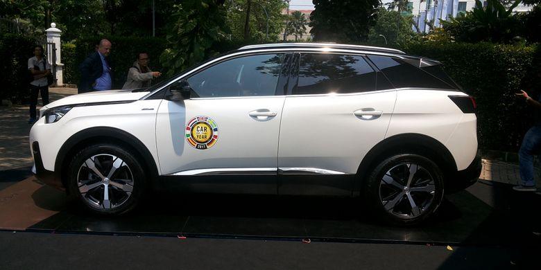 New Peugeot 3008 yang diluncurkan di Jakarta, Rabu (28/3/2018).
