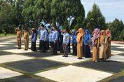 Telat Hadiri Upacara Hari Kesadaran Nasional, Puluhan Pegawai Dijemur