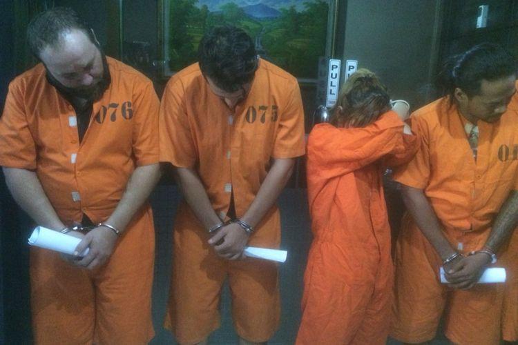 Pelaku penculikan warga Negara Bulgaria di Bali.