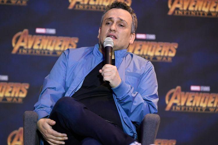 Sutradara asal Amerika Serikat Joe Russo berbicara dalam konferensi pers film Avengers: Infinity War di Four Seasons Hotel di Mexico City, Meksiko, pada 5 April 2018.