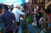 Dedi Mulyadi Borong Petai di Pasar Renggasdengklok