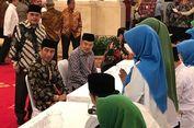 Presiden, Wapres Hingga Eselon I Bayar Zakat Bersama-sama di Istana