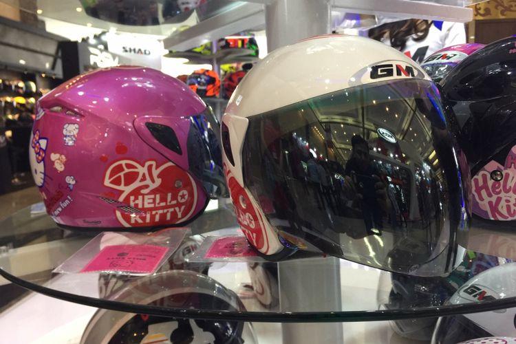 Helm Anak yang dijual di IMOS 2018.