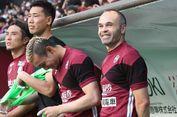 Kekalahan Telak Warnai Debut Andres Iniesta di Liga Jepang