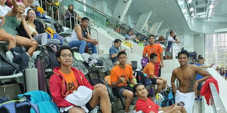 Tim Pelatda PON DKI saat mengikuti Hong Kong Open 2019