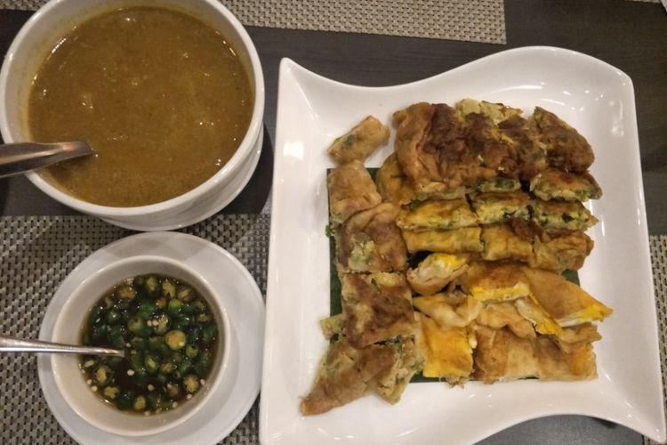 Martabak Har, salah satu makanan khas Palembang, Sumatera Selatan.