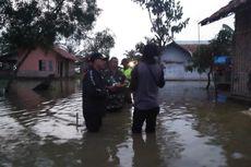 61 Rumah dan 150 Hektare Sawah dan Tambak di Karawang Terendam Banjir