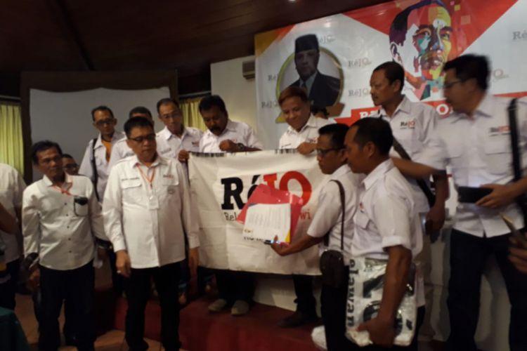Relawan Rejo target menangkan Jokowi-Maruf Amin 70 persen di Jatim.