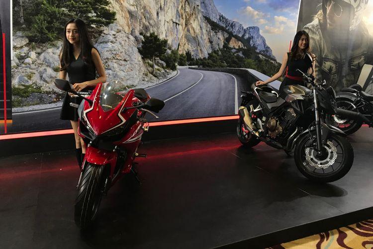 Jajaran Moge Honda 500 cc