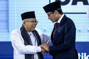 Data PoliticaWave soal Percakapan Netizen: Ma'ruf 58,26 Persen, Sandiaga 41,74 Persen