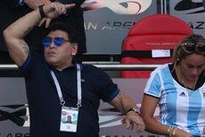 Kecewa Argentina Tersingkir, Maradona Siap Melatih Tanpa Dibayar