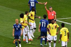 Kolombia Vs Jepang, Kartu Merah Pertama Piala Dunia 2018