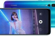 Ponsel 'Layar Berlubang' Huawei Nova 4 Resmi Meluncur