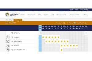 Jadwal Pertandingan Atlet Indonesia di Asian Games pada 19 Agustus 2018