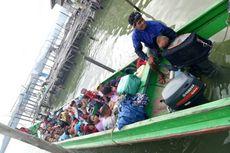 Koarmabar Gagalkan Penyelundupan 18 TKI Ilegal di Perairan Asahan