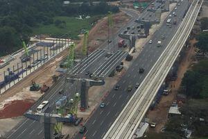 Jelang Akhir Tahun, Pembangunan di Tol Jakarta-Cikampek Stop Sementara