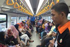 Usai 3 Kali Mogok, 4 Rangkaian Kereta LRT Palembang Difungsikan Lagi