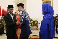 Hadir di Halalbihalal Jokowi, AHY Dapat Tepuk Tangan Meriah