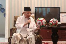Ma'ruf Amin: Semoga Indonesia Bolanya Makin Bagus, Jangan jadi Tim KW Terus