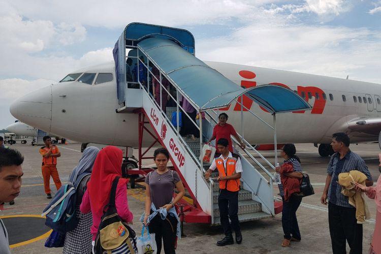 Pesawat Lion Air rute Makassar-Manado kembali ke landasan Bandara Sultan Hasanuddin setelah sempat terbang 25 menit