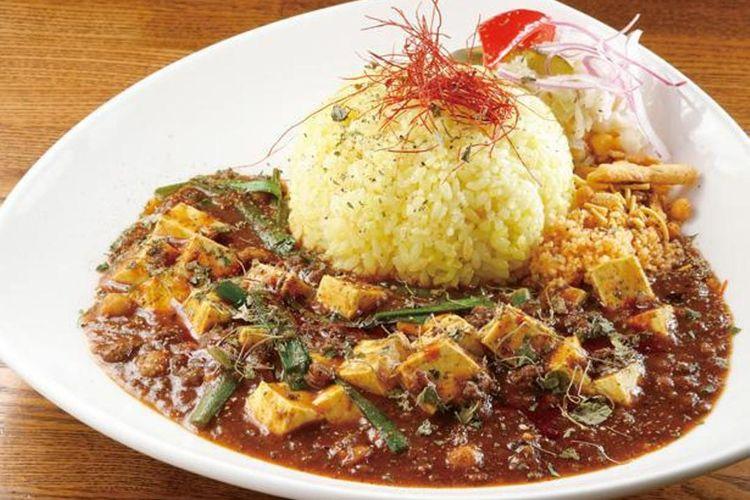 Kari Keema dengan Mabo Tofu