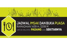 Jadwal Imsak dan Buka Puasa di Padang pada Hari Ini