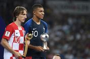 Distribusi Gelar dan Hadiah Piala Dunia 2018, Panggung Modric-Mbappe