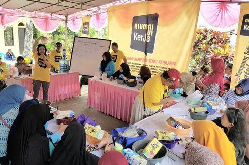 Alumni UI Kerja Gelar Kegiatan Kampung Sehat di Katulampa